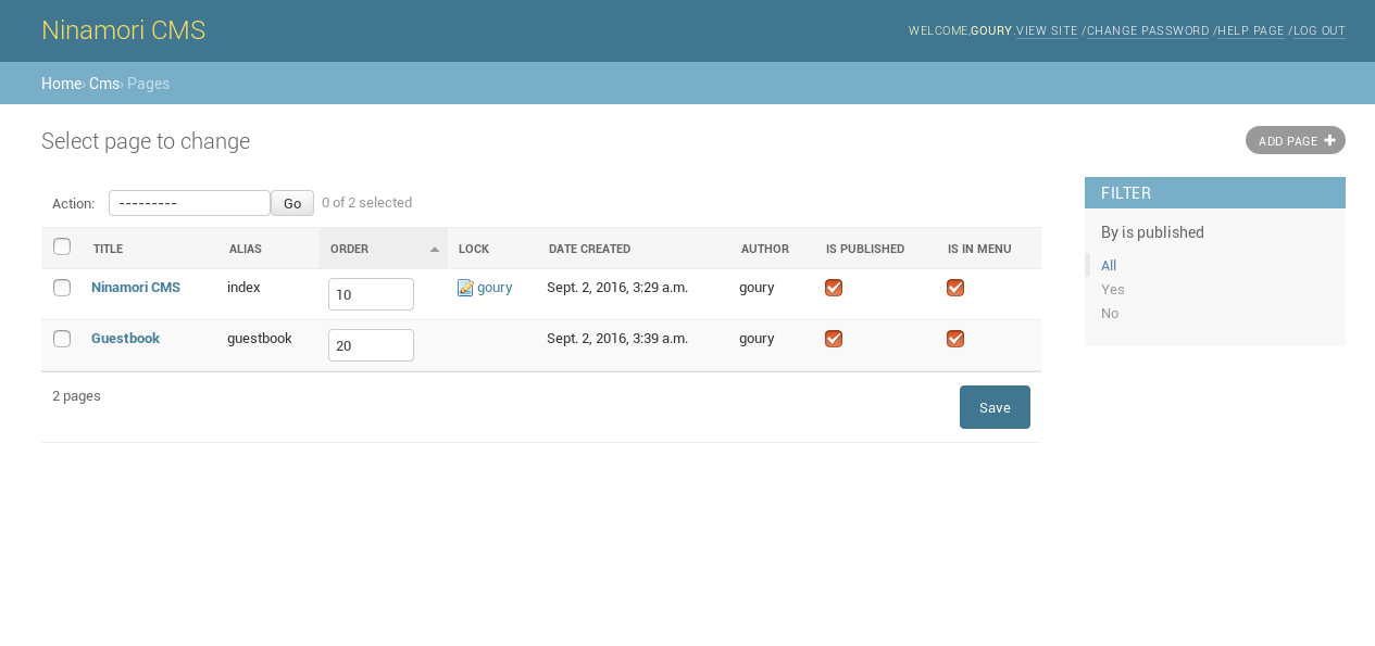 admin panel screenshot 2